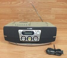Genuine Sony (Cfd-S40Cp) Cd / Radio / Cassette Boombox w/ Power Supply