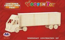 3d wood puzzles Semi Truck