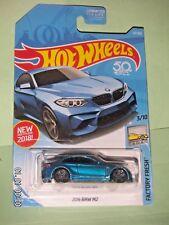 HOT WHEELS 2018  121/365  2016 BMW M2  FACTORY FRESH 3/10  NEW