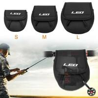 Portable SBR Spinning Baitcasting Fishing Reel Bag Protect Case Cover Holder