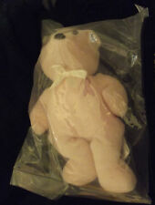 "Breast Cancer Survivor  ""Remembrance Bear"" ~~ CAROL ~~ Pink w/Pink Ribbon"