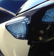 GSX-R GSXR 600 750 1000  BLUE REAR INDICATORS LENSES