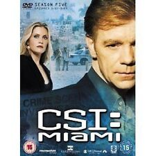 New & Sealed Boxed Set DVD CSI Crime Scene Investigation Miami Season 5 Volume 2