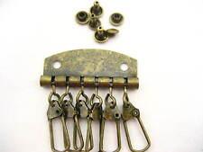 K2 Antique key row DIY key pouch accessory DIY Keychains holder bag material