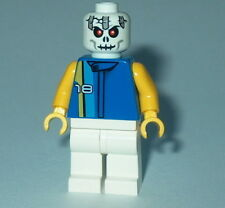 (E) Minifigure New Lego Zombie Skeleton Head Figure AS SHOWN Ninjago Frakjaw