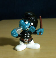 Smurfs Policeman Smurf 20123 Police Vintage Figure 1981 PVC Toy Peyo Figurine