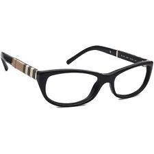 Burberry Women's Eyeglasses B 2167 3001 Black Full Rim Frame Italy 52[]16 140