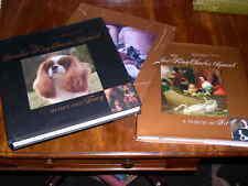 RARE CAVALIER KING CHARLES SPANIEL 2 VOLUME DOG BOOK 1ST 2007 BY GARNETT-WILSON