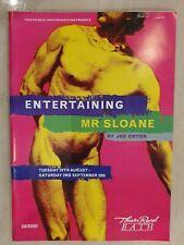 PROGRAMME & TICKET ENTERTAINING MR SLOANE ALISON STEADMAN ANDREW HOWARD