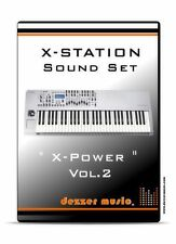 "Novation X-Station Synthesizer ""X-Power"" Vol.2 - 100 Sound Presets / Patches"