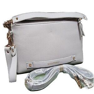NEW Bella Tunno 2 Part Convertable Diaper Bag Purse in Gray