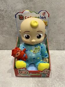 Cocomelon Musical Bedtime JJ Doll & Teddy Bear BRAND NEW & BOXED Free Delivery