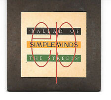 """Nice Rare Simple Minds Ballad Of The Streets 3"""" CD Single NM"""