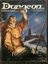 DUNGEON Magazine # 54 - Jul/Aug 1995 AD&D MACBETH SideTreks D&D