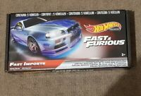 Hot Wheels-FAST IMPORTS -Box SET OF 5 CARS. SEALED/UNOPENED Case! . Read Desc.
