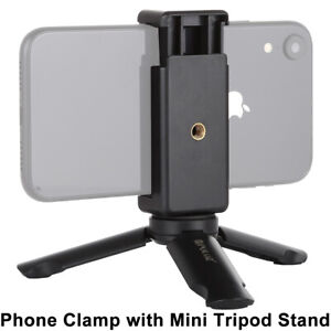 Universal Mini Mobile Phone Tripod Stand Grip Holder Mount For iPhone Samsung UK