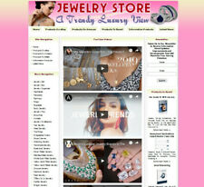 AMAZON STORE Ready Made Jewelry Affiliate Business Website Amazon+Google