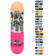 Skateboard Holz Kinder Board Kickboard Holzdeck Old School Kanadischer Board