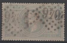 "FRANCE STAMP TIMBRE N° 33 "" NAPOLEON III 5F VIOLET GRIS "" OBLITERE TB   N281"