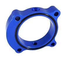 Torque Solution Throttle Body Spacer Blue Fits Kia Optima 2.0T