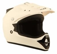 Duchinni D301 Kids White Full Face MX Youth Motorcycle Crash Helmet Brand New