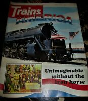 Trains Magazine July 1976 Issue