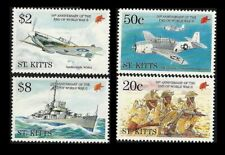 St. KITTS. End of World War II. 1995 Scott 389-392. MNH (BI#38)