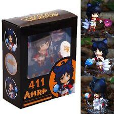 LOL League of Legends Ahri Nendoroid Anime PVC Action Figure