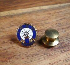 IBEW Retirement Pin pinback button enamel older