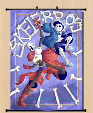 Game Anime Poster Undertale Sans Cool Wall Scroll Home Decor Birthday 40*60cm