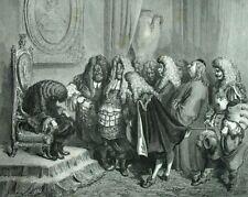Peau d'âne Mariage du Roi Conte de Perrault Gravure de Gustave Doré.