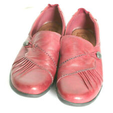 Cobb Hill Womens Red Leather Shoes 7M