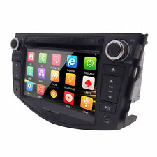 2 DIN Car Stereo in Dash SD DVD Player GPS RDS SWC for TOYOTA RAV4 2006-2011