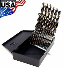 Norseman 25pc Metric HI-Molybdenum M7 Drill Bit Set 1-13mm MADE IN USA SP-25M
