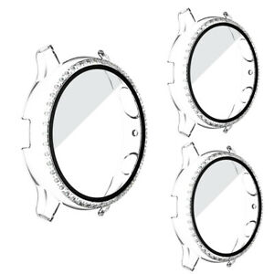 3 Pcs For Samsung Galaxy Watch Active 2 40/44mm Screen Protector Full Cover case