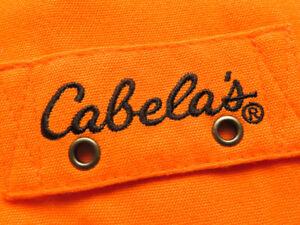 Cabela's Blaze Pro Guide Hunting Vest (XL) OMG 🦆
