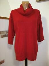 100% Kaschmir/Cashmere F&F Damen Pullover rot Gr. 12/L