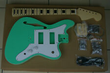 DIY/Build Your Own GUITAR KIT J Master Thinline Edge Bound Surf Green