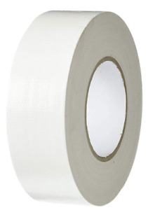 T.R.U. Industrial Duct Tape. Waterproof UV Resistant White 3/4 in X 60 Yd.