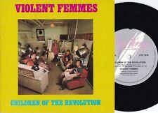 Violent Femmes ORIG OZ PS 45 Children of the revolution NM '86 Big Time Alt Rock