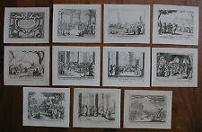 JACQUES CALLOT ´NOUVEAU TESTAMENT; NEW TESTAMENT´ KOMPLETT, L. 1418-1427, ~1635