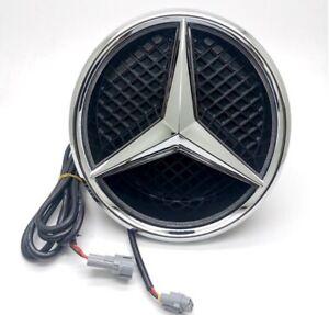 Fits Mercedes Benz 2014-2017 Illuminated LED Light Front Grille Star Emblem Logo