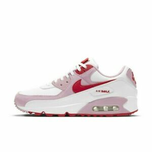 Nike Women's Air Max 90 Valentine's Day Shoes Sneakers DD8029-100 Size 6-12