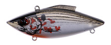 Rat-L-Trap Panfish Crappie Lipless Crankbait 1/8oz Tiny TT37 Bleeding Shiner