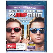 BLU-RAY 22 JUMP ST Channing Tatum Jonah Hill UV UltraViolet ALL REGION ABC [BNS]