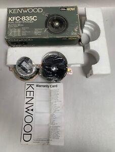 "UNUSED Kenwood KFC-835C 3.5"" 4-Ohm 40 Watt Rms Dual Dash Car Stereo Speaker (A8)"