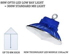 80W LED LOW HIGH BAY LIGHT LED SPOT LIGH CEILING COMMERCIAL FACTORY LIGHT
