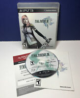 Final Fantasy XIII (Sony PlayStation 3, 2010) PS2 Complete w/ Manual TESTED
