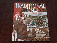 TRADITIONAL HOME Magazine November December 2013 Back Issue
