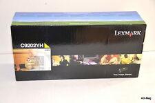 Toner Cartouche ORIGINAL pour imprimante C920 - LEXMARK C9202YH - (JAUNE) - NEUF